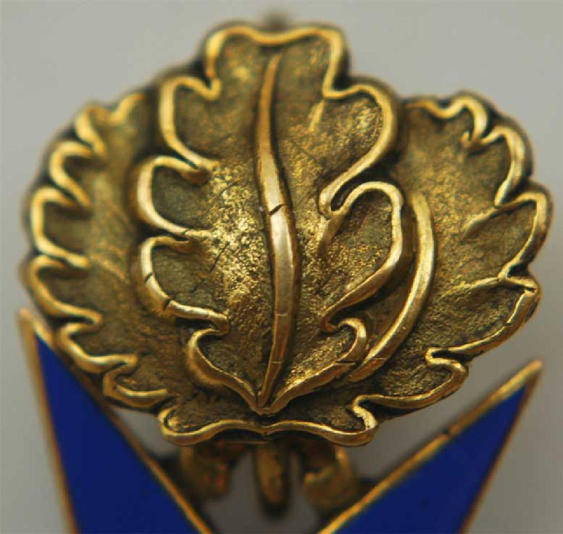 UNIQUE Order Pour le Merite, gold w. Ribbon - 9
