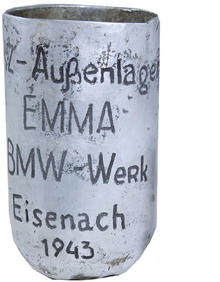 German WW2 Cup EMMA-BMW, Buchenwald Camp