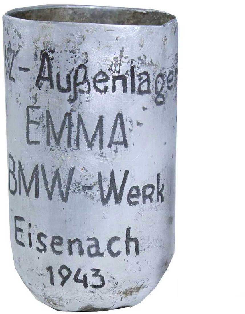 German WW2 Cup EMMA-BMW, Buchenwald Camp - 2