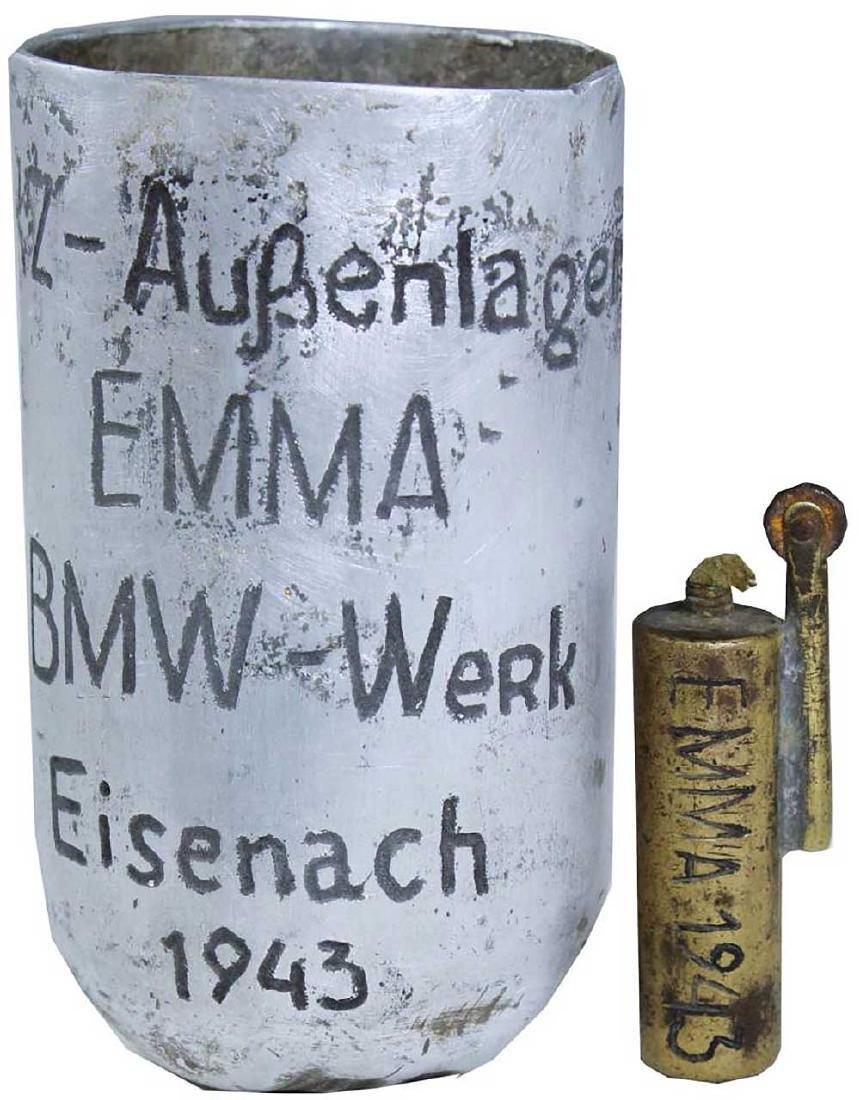 German WW2 Cup EMMA-BMW, Buchenwald Camp - 4