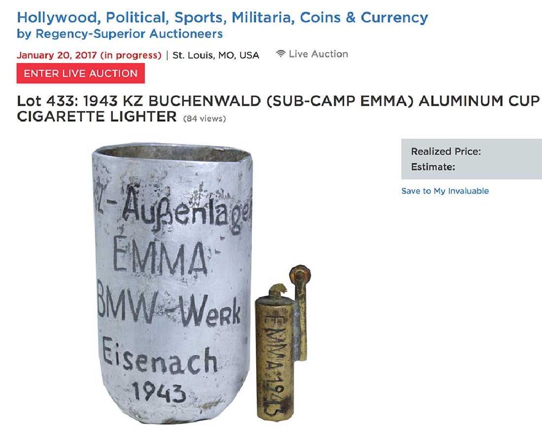 German WW2 Cup EMMA-BMW, Buchenwald Camp - 5