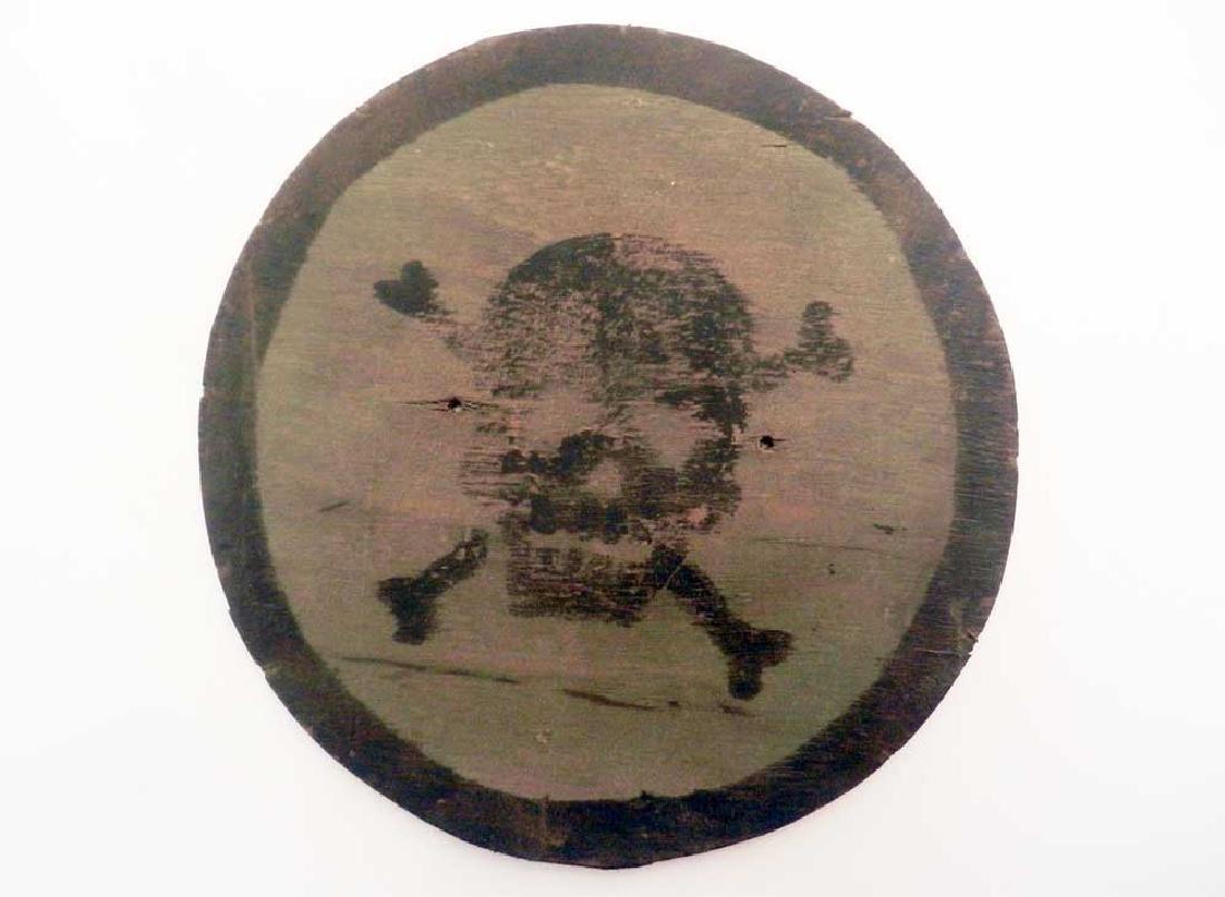 German WW2 KRIEGSMARINE Plate CAUTION MINES