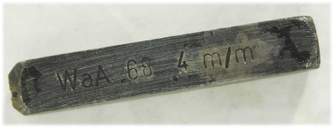 German WW2 Punze Stamp Schlagstempel RZM Bajonette