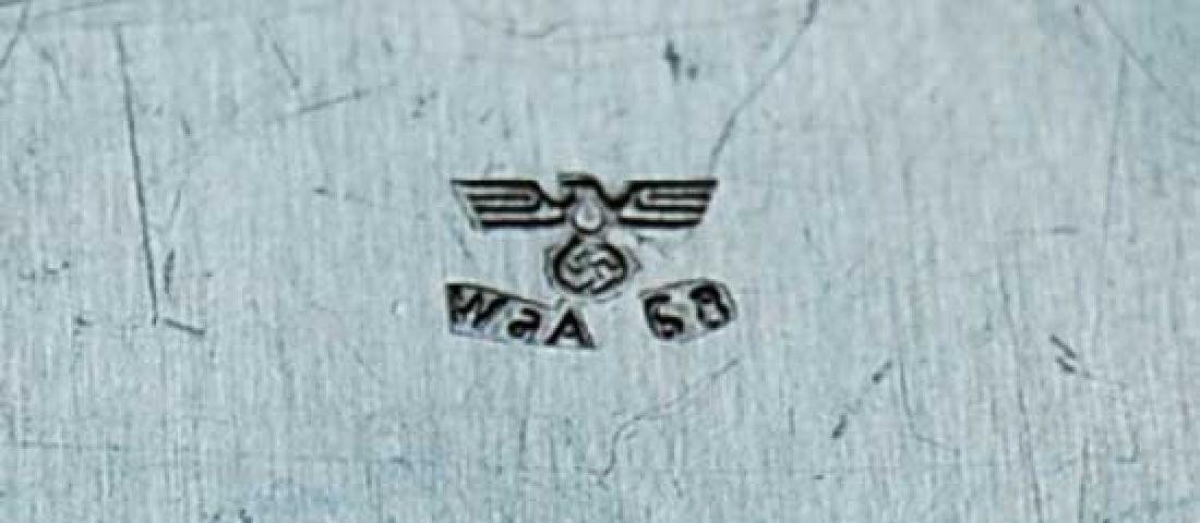 German WW2 Punze Stamp Schlagstempel RZM Bajonette - 6