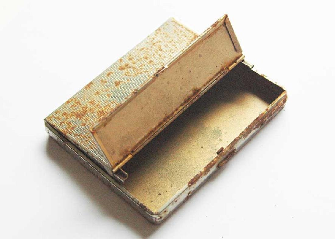 German WW2 CIGARETTE CASE