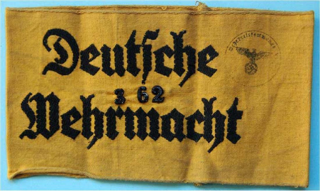 GERMAN WW2 ARMBAND DEUTFCHE WEHRMACHT
