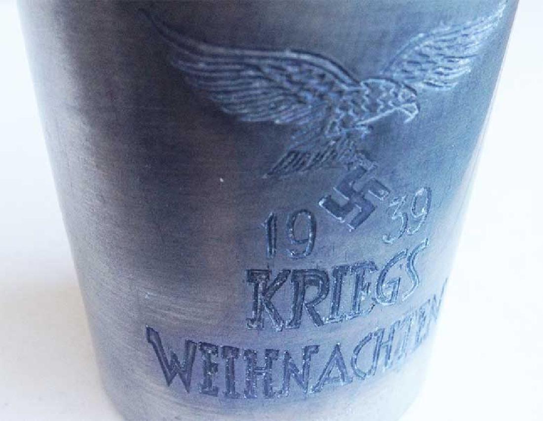 Rare German WW2 Paratrooper Honour Cup