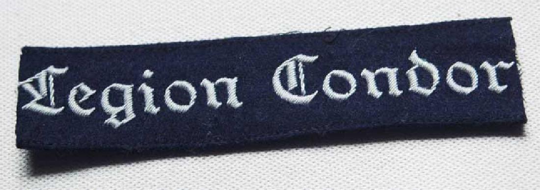 German WW2 Luftwaffe Legion Condor Cuff Title KG 53 - 2