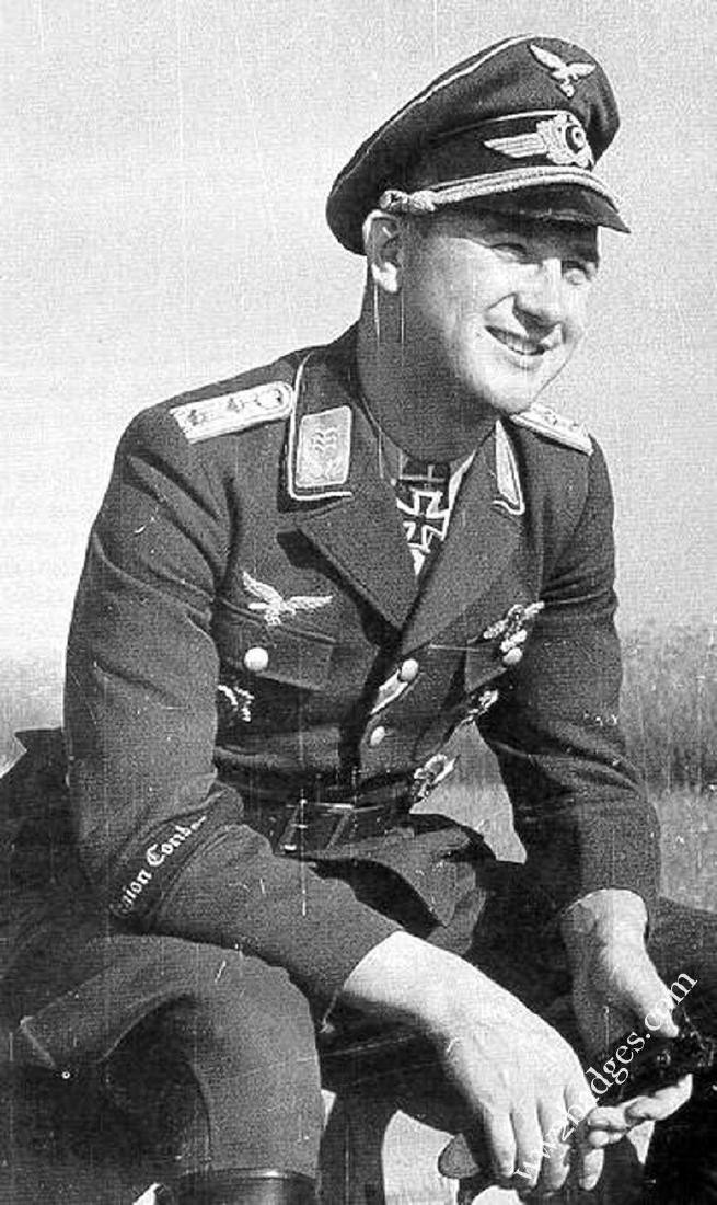German WW2 Luftwaffe Legion Condor Cuff Title KG 53 - 8