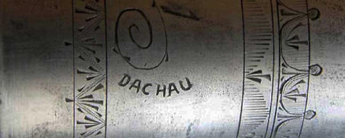 German WW2 METAL CUP fr. DACHAU, 1941 Adolf Hitler - 2