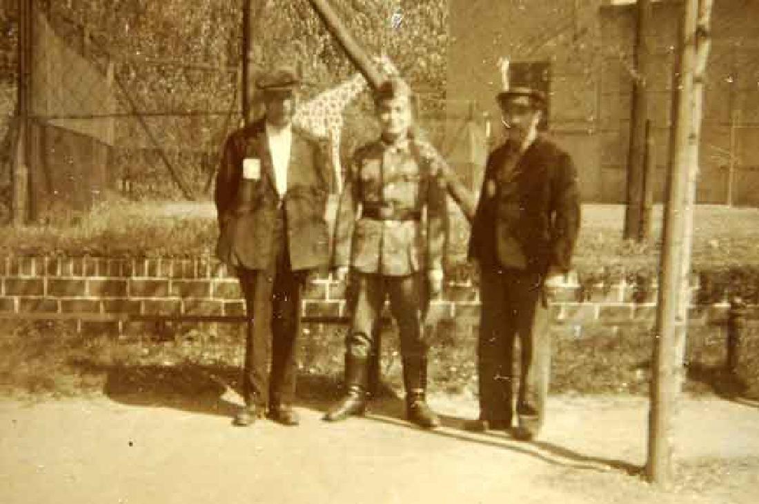 German WW2 Ausweis ID for Polish worker, 1942 - 8
