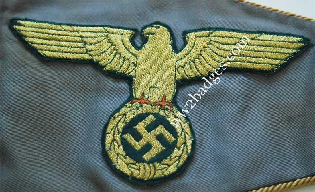 Very Rare German WW2 BDM Pennant w. TAG