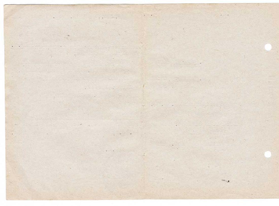 Extremely Rare German WW2 Rotes Kreuz Document fr. KL - 6