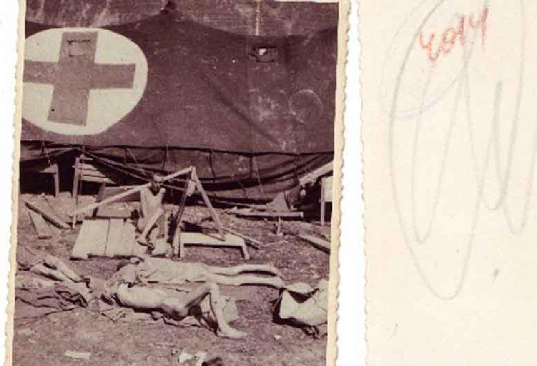 Extremely Rare German WW2 Rotes Kreuz Document fr. KL - 9