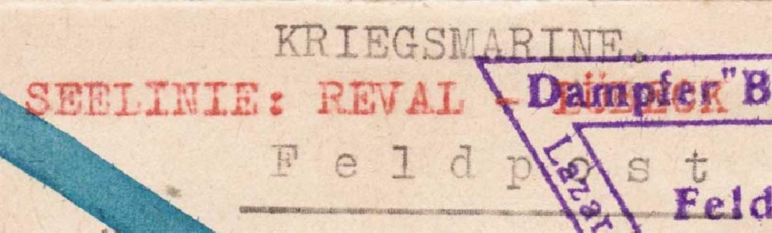 Extremely Rare German WW2 Post, Lazarettschift Berlin, - 2