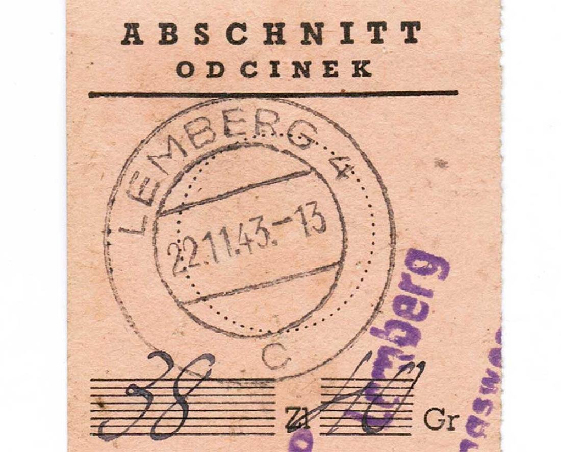 Extremely Rare German WW2 Receipt f. Pension Payment