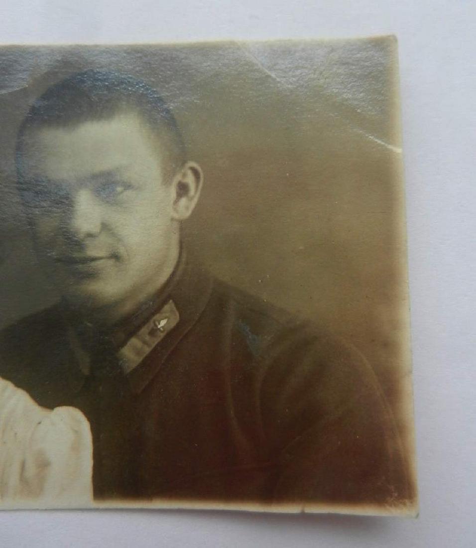 Russian Soviet Photo of AVIATOR Pilot, 1940 Ukraine - 4