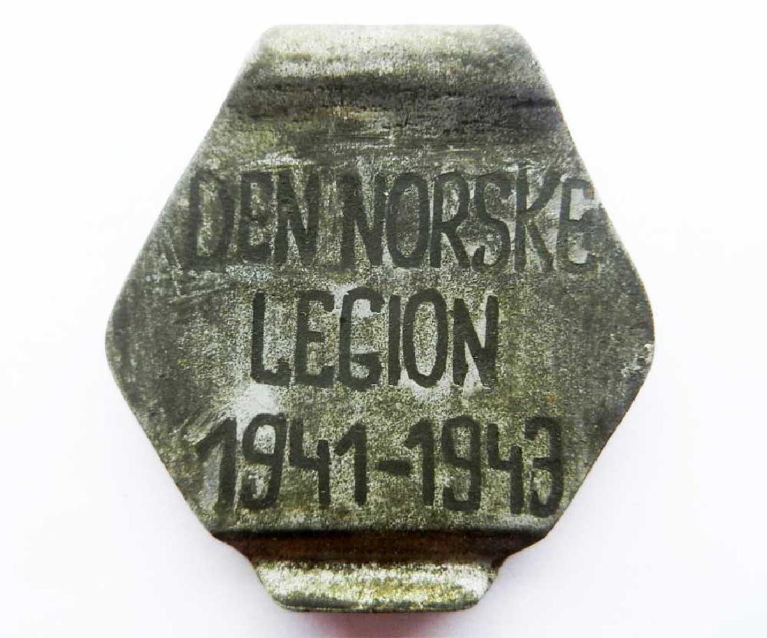 German WW2 Volunteer Norwegian Legion Money Clip