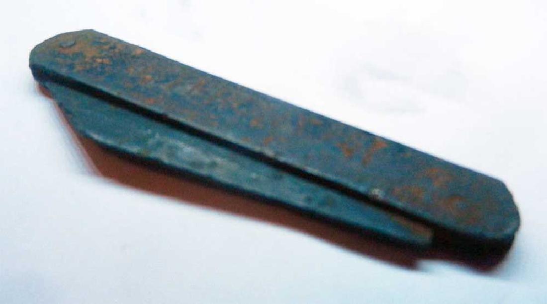 Original German WW2 Knife OSTFRONT, 1941 - 1945 - 4