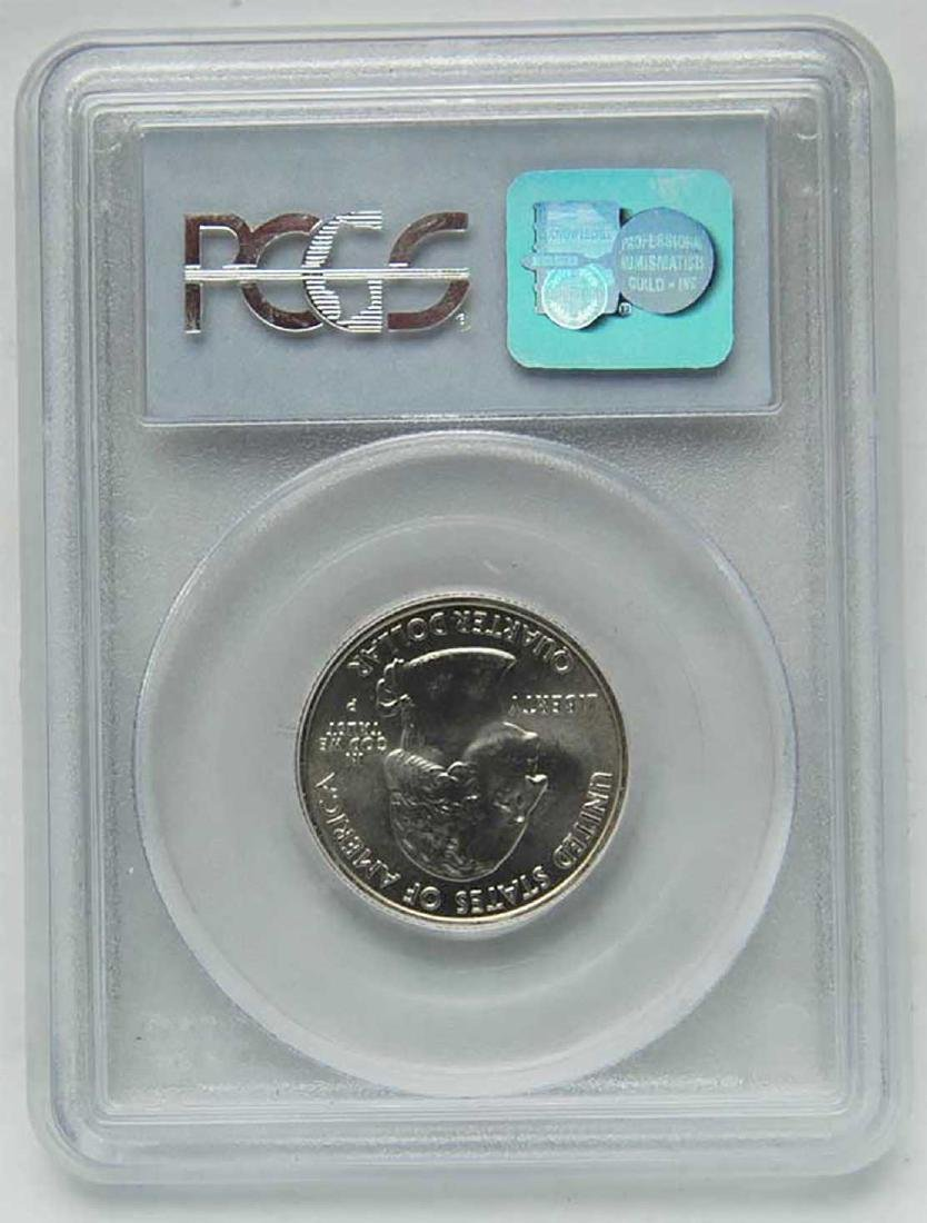 Rare Original USA 25 cents slabed, 2004, certified
