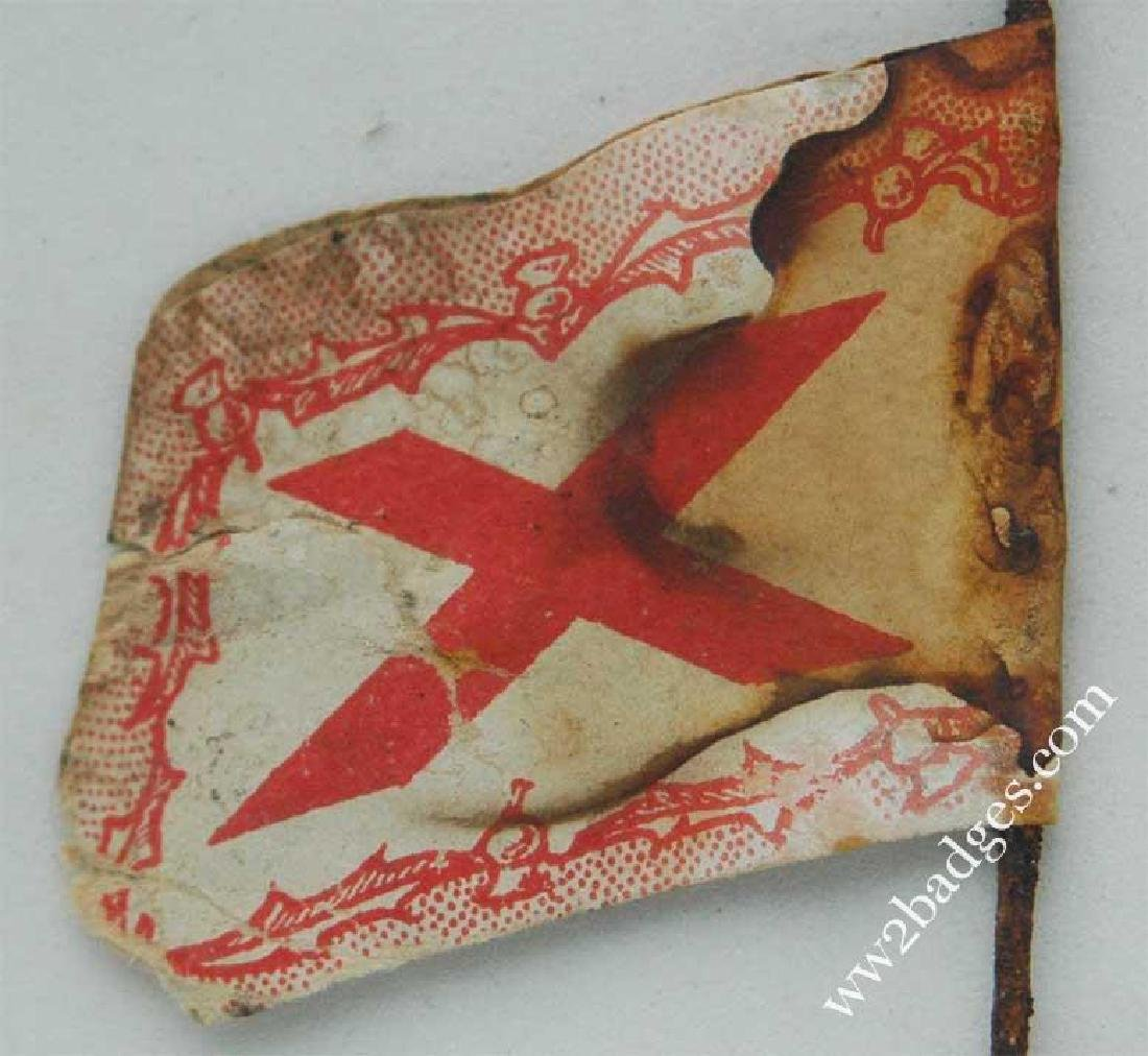 Flag Day Pin Badge: Scottish Women's First Aid Corps