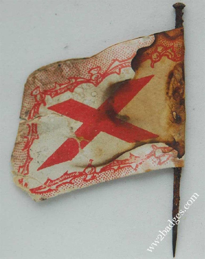Flag Day Pin Badge: Scottish Women's First Aid Corps - 4