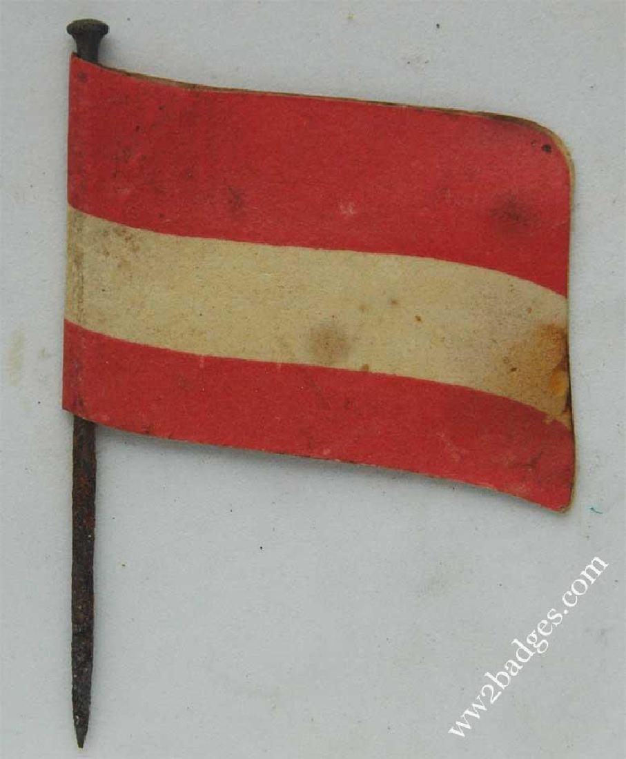 Flag Day Pin Badge: Serbian Flag - Serbia, Balkans - 4