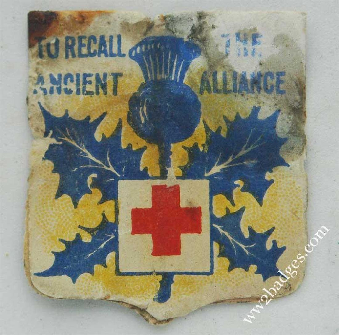 Flag Day Pin Badge: Great Britain Army Flag War Effort