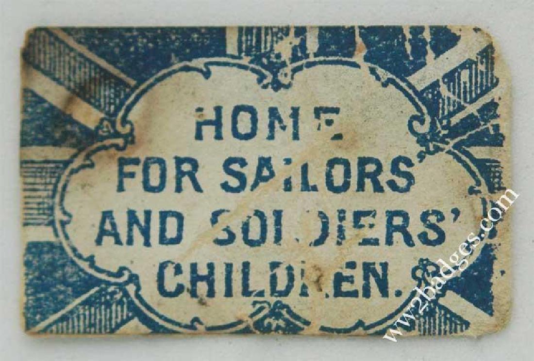 Flag Day Pin Badge: Great Britain Army Flag War Effort - 2