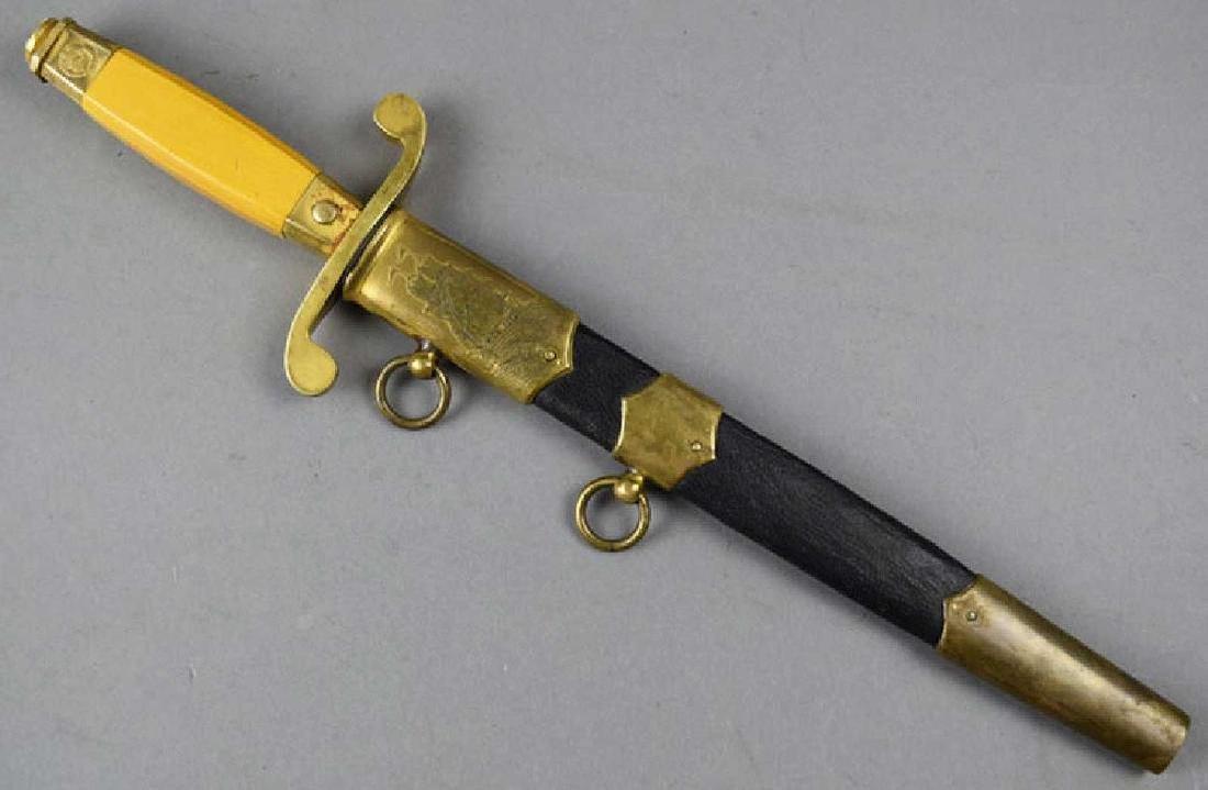 Rare Original Russian Soviet Naval Officer Dagger