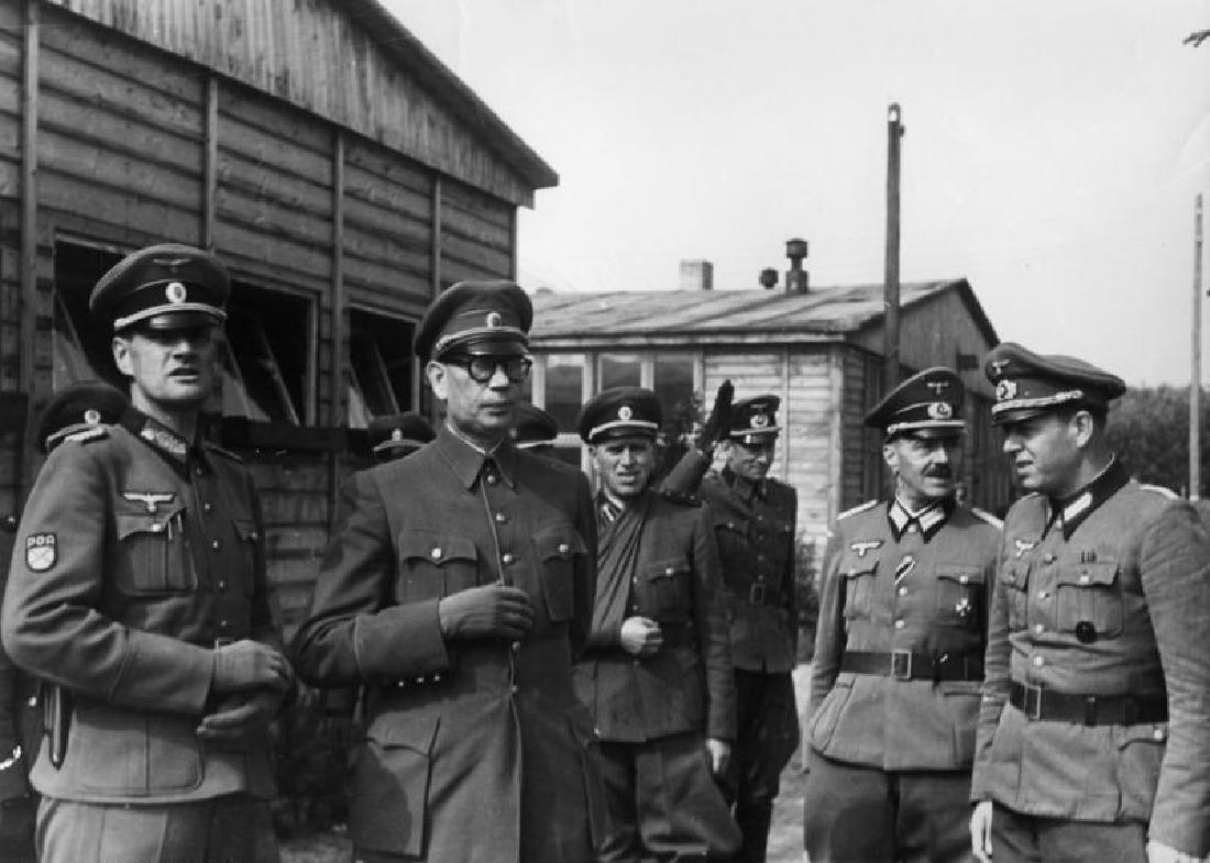 GERMAN WW2 SLEEVE PATCH KOHP, RUSSIAN VOLUNTEERS - 5