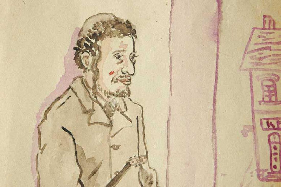 Jewish Picture of Lazar Weisman, 1931 Kolomyja