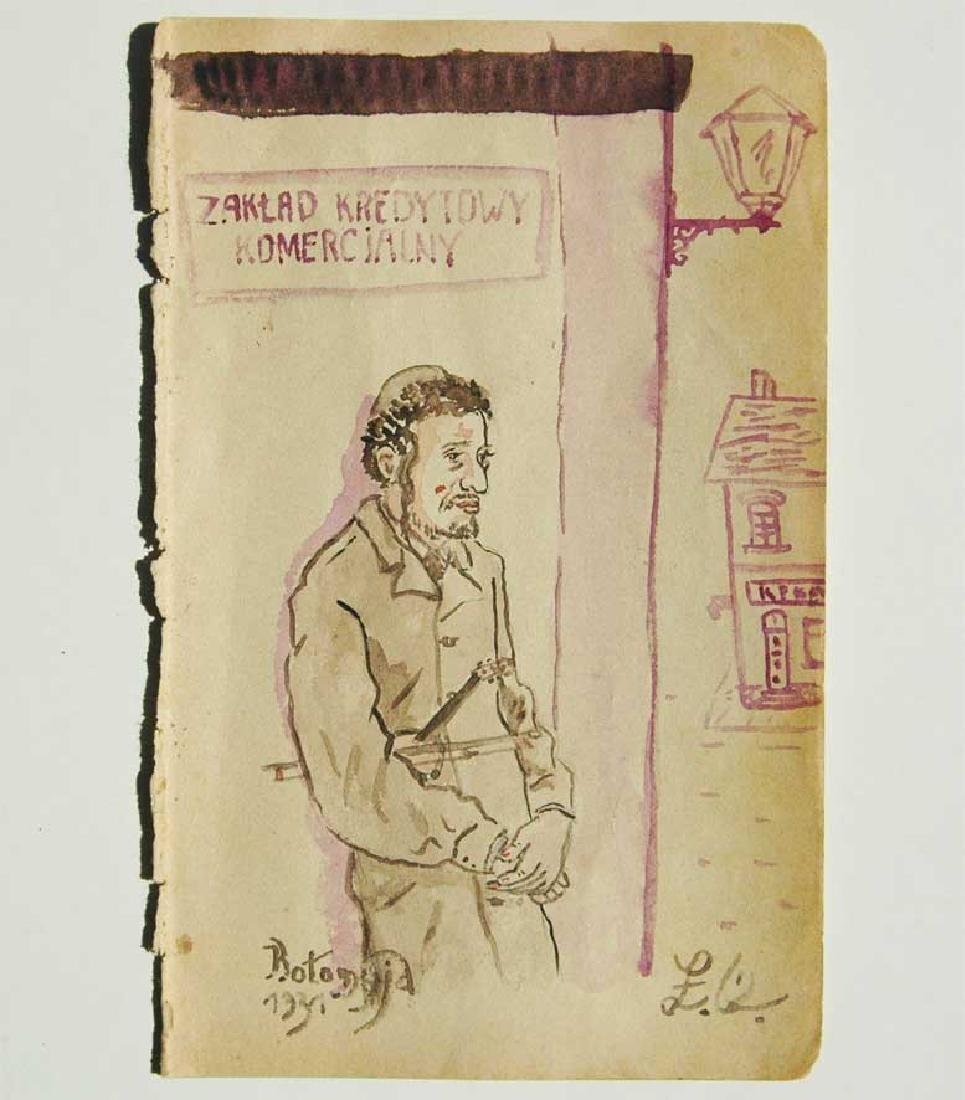 Jewish Picture of Lazar Weisman, 1931 Kolomyja - 3