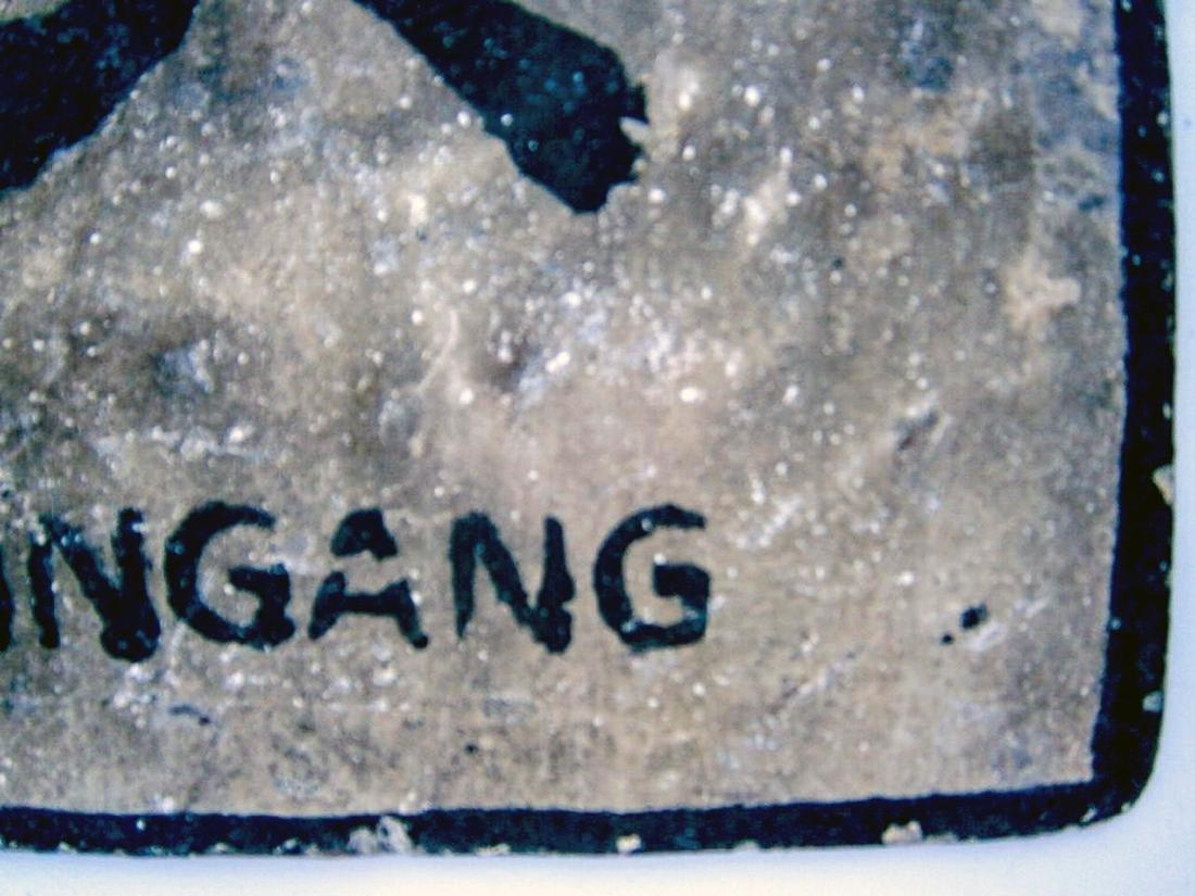 Original German WW2 Sign VERBOTENER EINGANG - 6