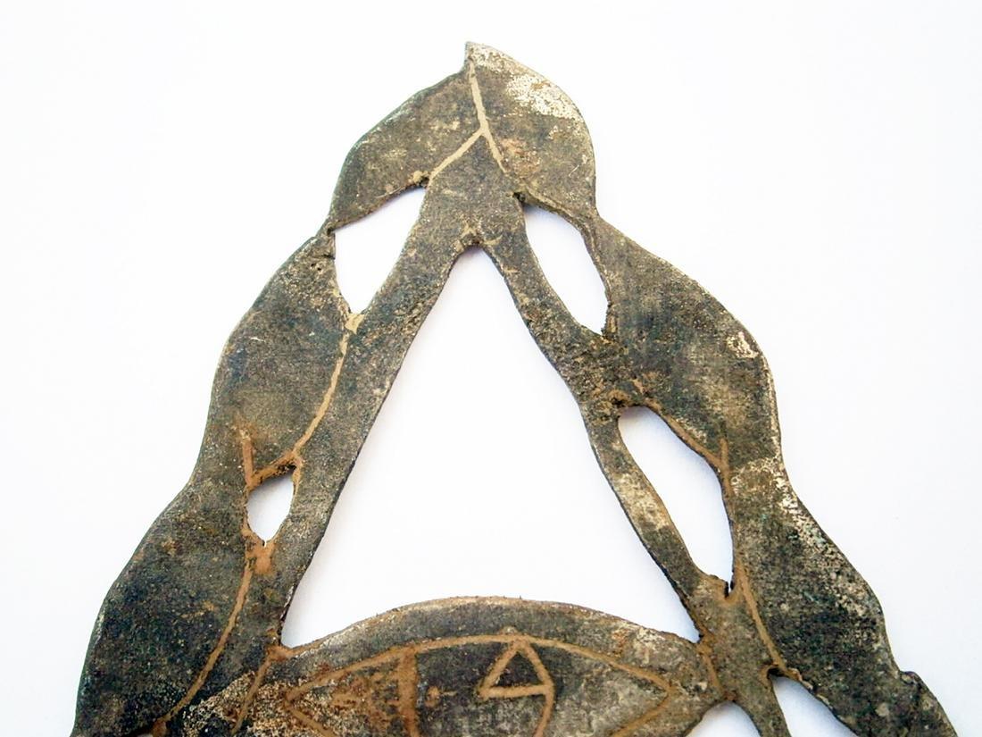 Original WW2 Freemasonry DELTA Eye of Providence - 7