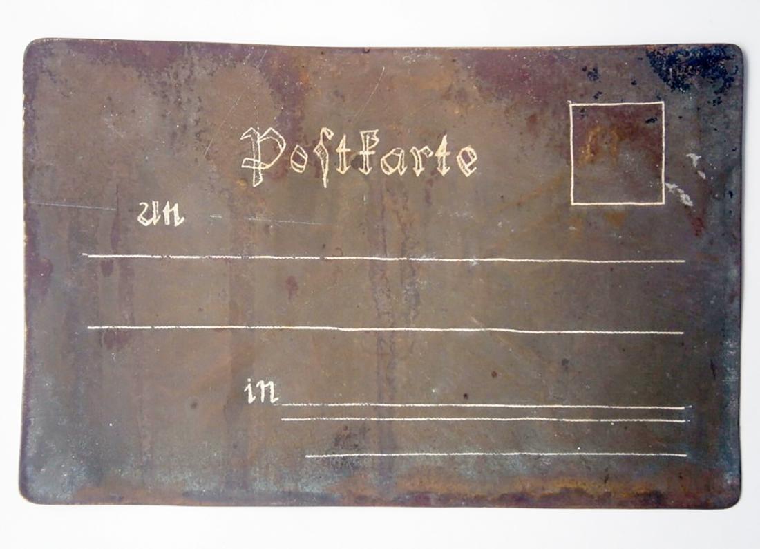 Original German WW2 Postcard w. SKULL & BONES - 9