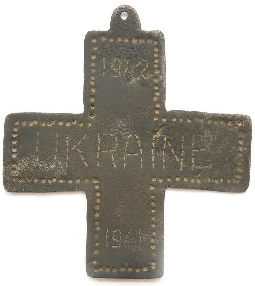 Original German WW2 Iron Cross, UKRAINE, 1941 - 1942