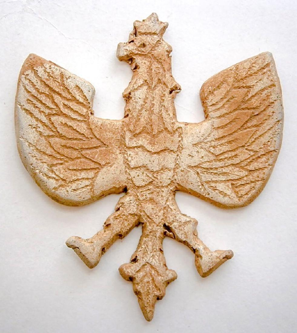 Polish WW2 Eagle fr. Armia Krajowa, TRENCH Art