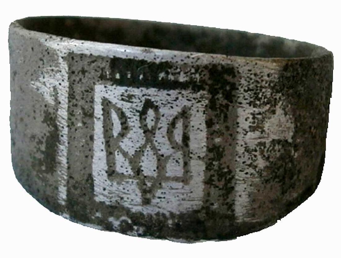 Original Ukrainian WW2 Ring w. Trizub, UPA - OUN