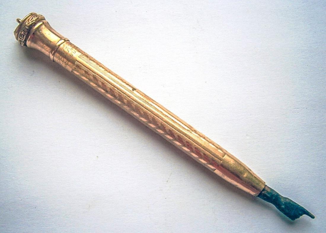 Original GOLD Jewish WW2 Torah Pointer fr. USA, Yad