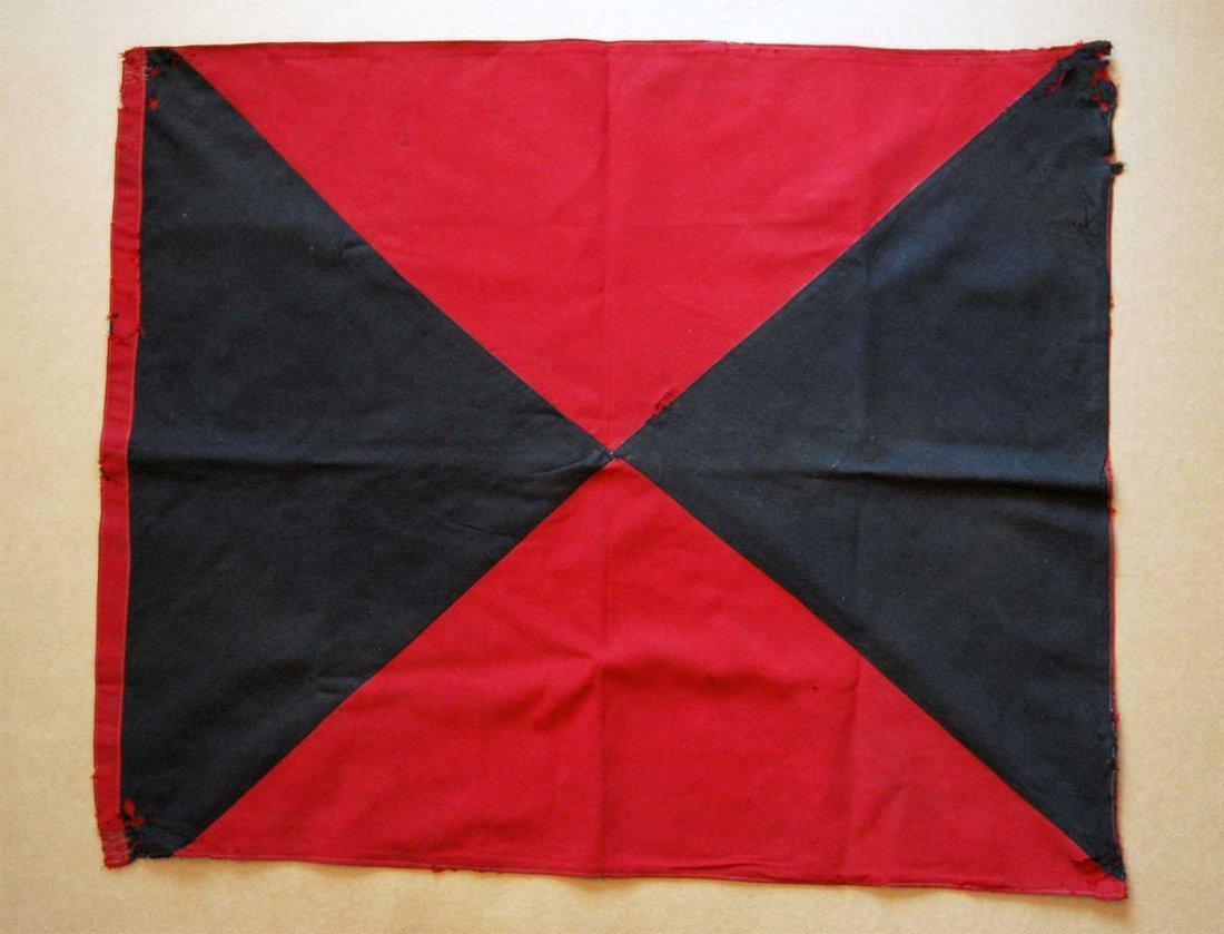 German WW2 Volunteer Cuban Cossacks Regimental Flag,