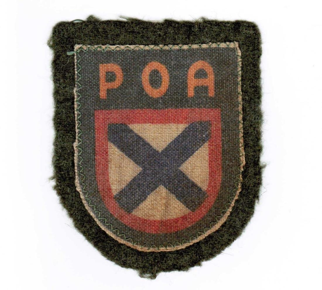 GERMAN WWII PATCH FOR RUSSIAN VOLUNTEERS, ROA
