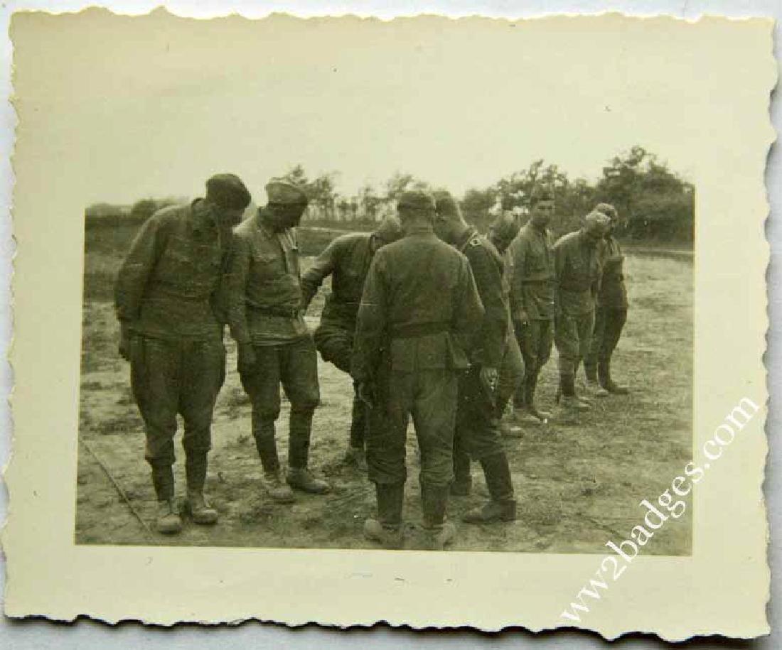 WW2 PHOTO of GEORGIAN VOLUNTEERS in Germany