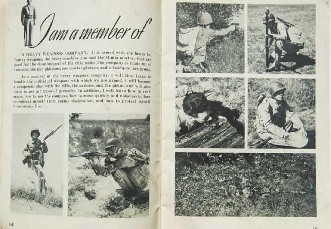 USA WW2 Arrived Book Occupation Zone, 1945