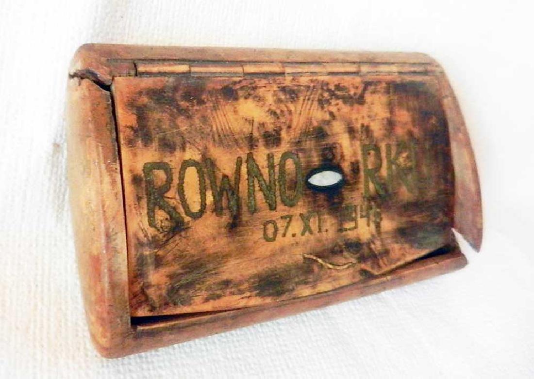 German WW2 RKU Cigarette Case, Reichskommissar UKRAINE