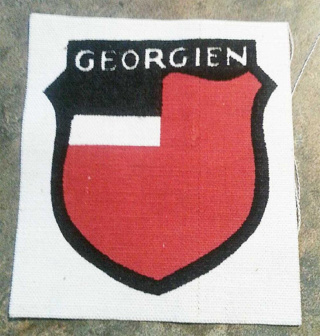 German - Russian WW2 SHIELD Georgien Liberation Army