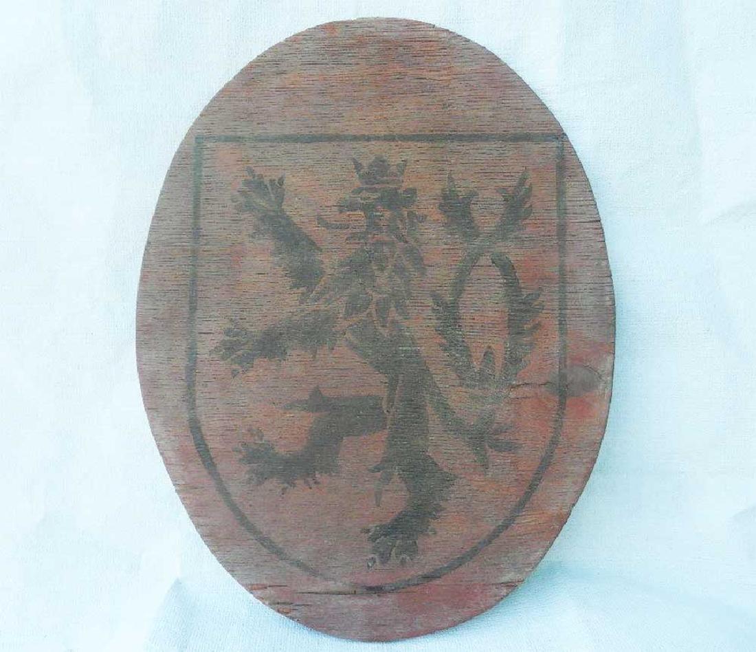 WW2 Coat of Arms Czech Republic or Bohemia