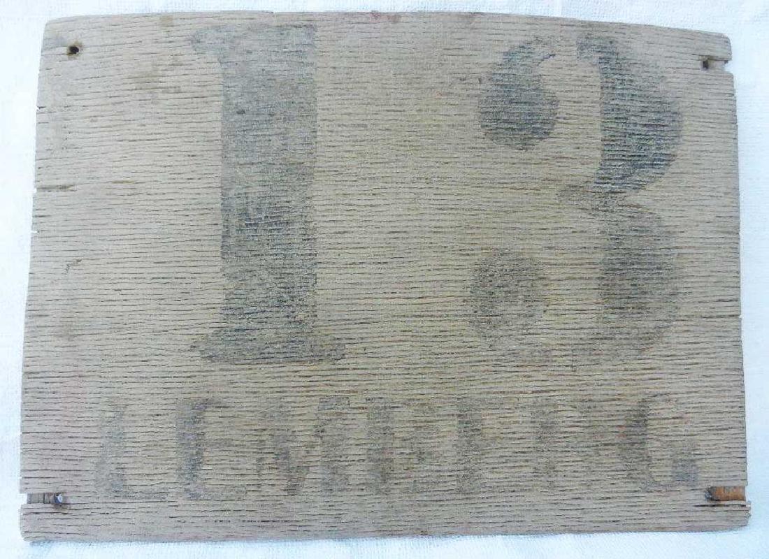 German WW2 Sign LEMBERG - 13 km from Berlin