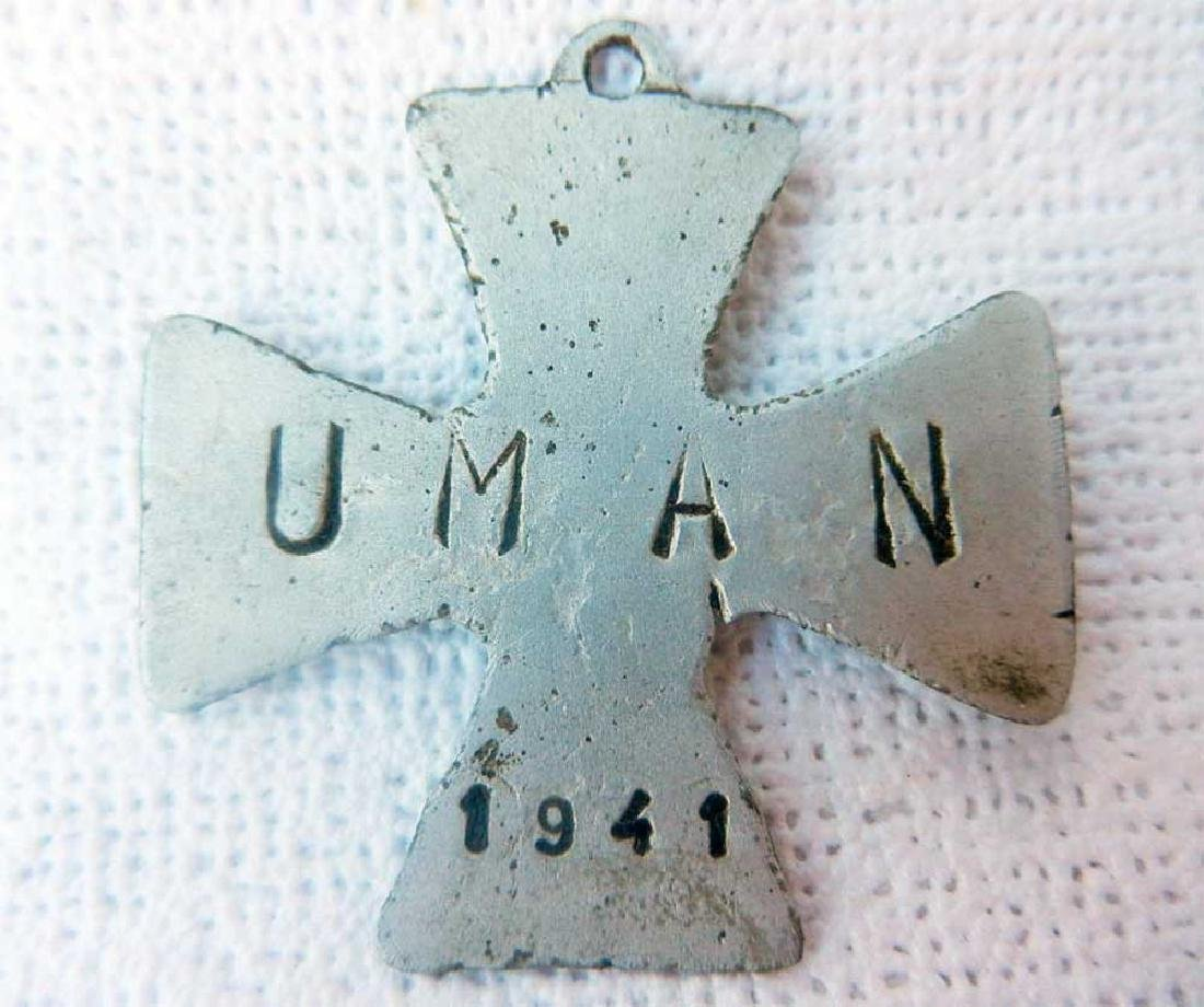 Original German WW2 Iron Cross w. INSCRIPTION, 1941