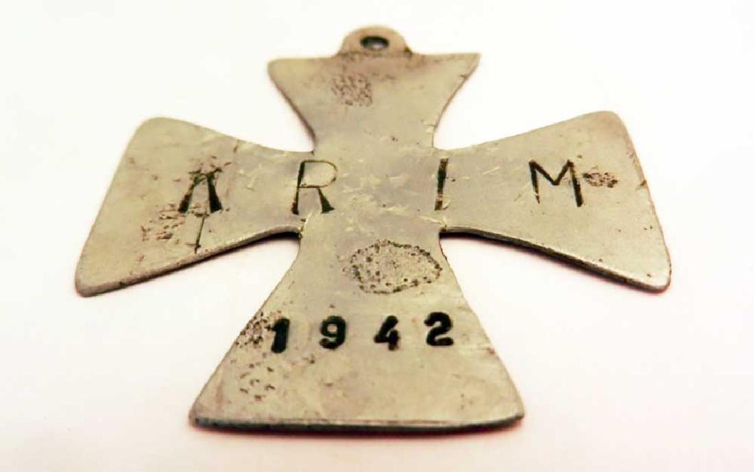 Original German WW2 Iron CROSS Crimea, 1941 - 1942